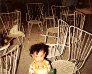 Abends im Biergarten