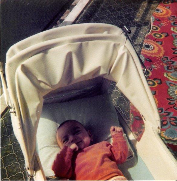 Balkon im Kinderwagen 2
