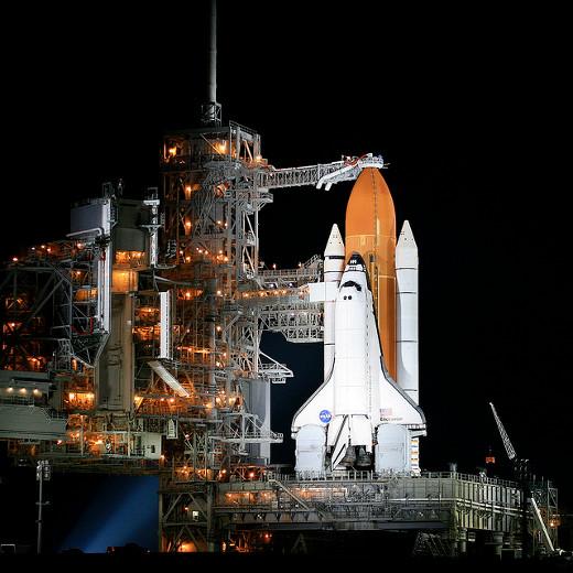 Das Space Shuttle Endeavour