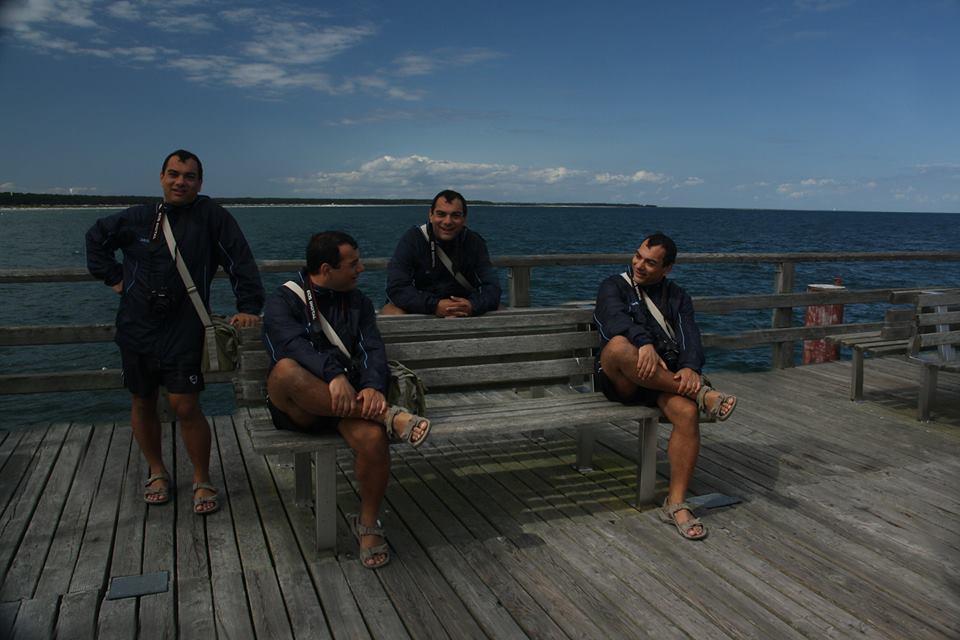 Vier geile Typen