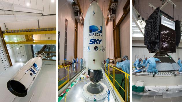 Ariane 5 Trägerraketer für 2 TV-Satelliten