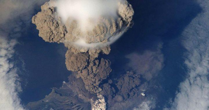 Großer Vulkanausbruch