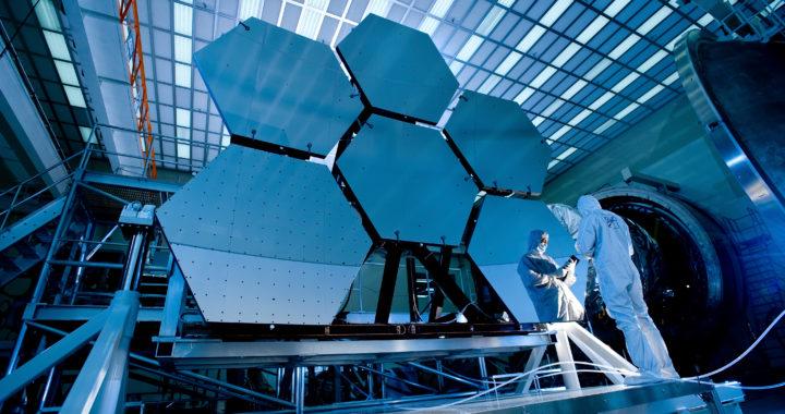 James Webb Weltraumteleskop Spiegel