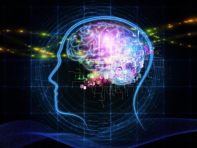 Künstliche Intelligenz Kopf