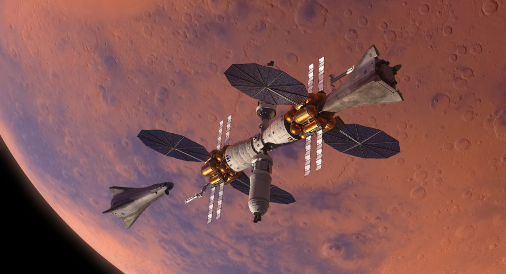 Lockheed Martin Mars Base Camp