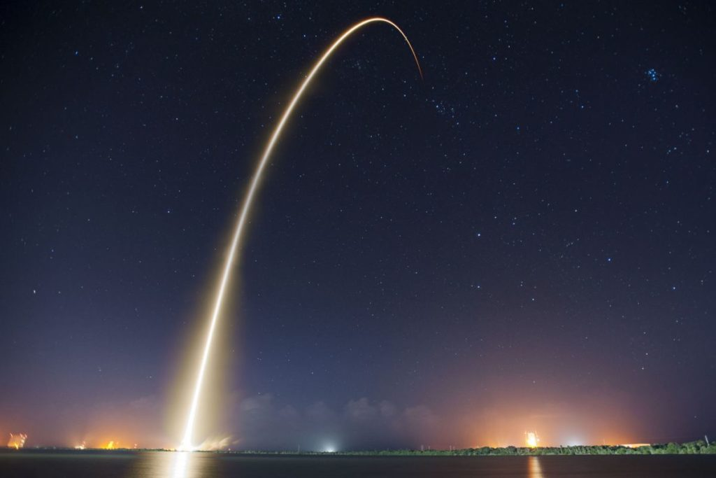 SpaceX Rakentabschuss