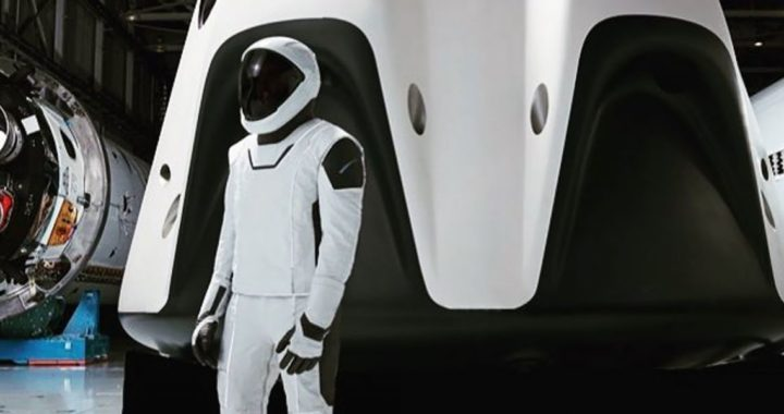 SpaceX Raumanzug & Dragon Raumkapsel