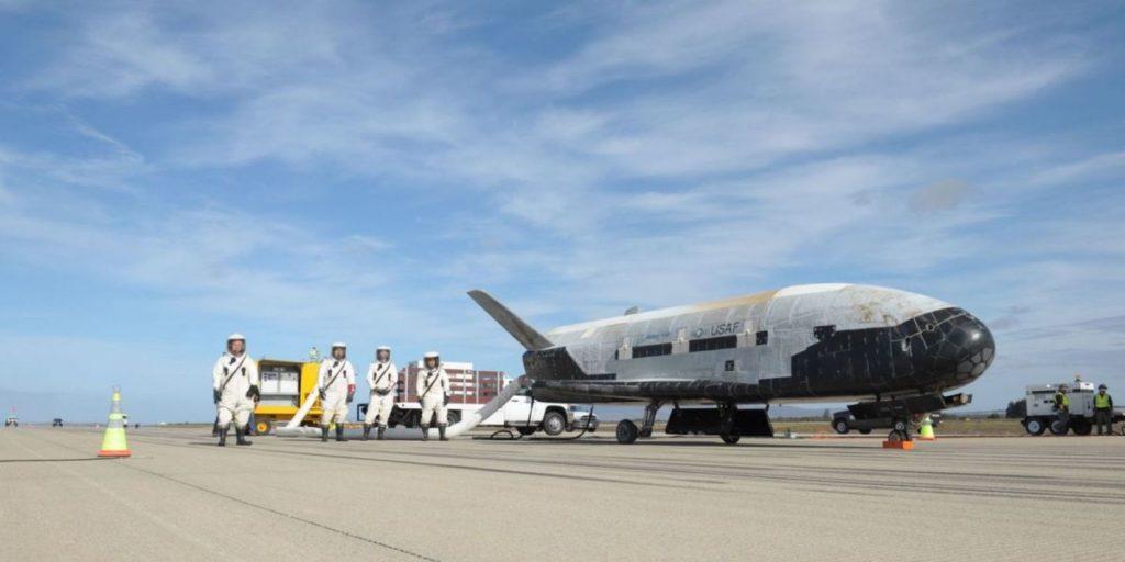 X37B Raumflugzeug