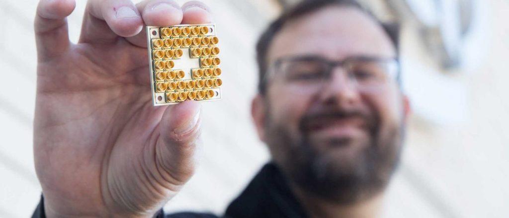 Intel Quanten 17-Qubit Prozessor