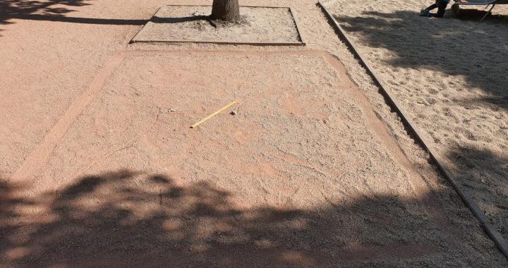 Landvermessen Spielfeld